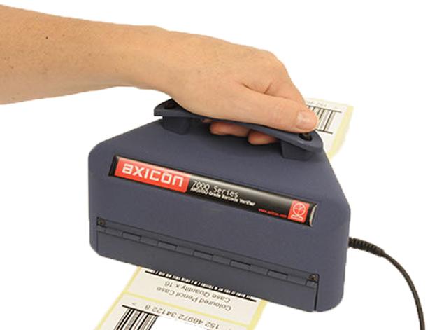 Axicon barcode verifiers