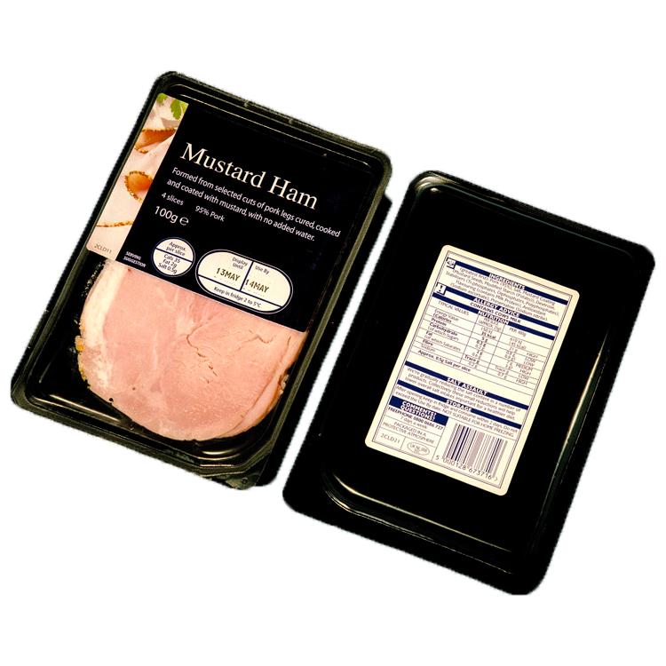Label applicators for delicatessen products