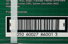 Barcode mistakes to avoid - obscured barcode