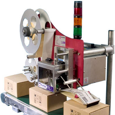 RTL Print and Apply Label Applicator - Top Apply