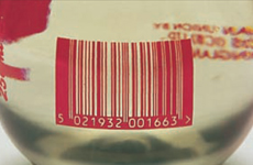 Printing barcodes directly on to packaging