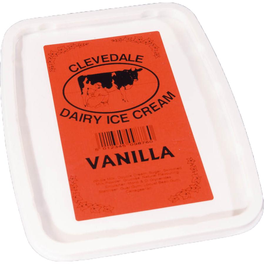Frozen food labelling
