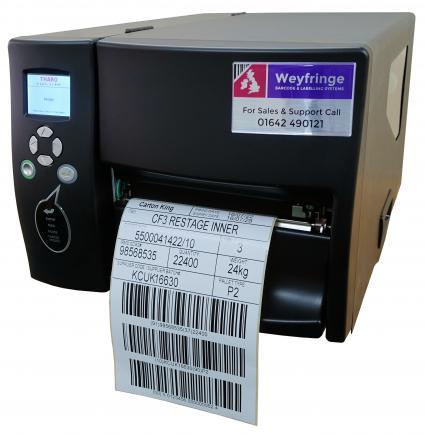 """Weyfringe H600+ 6"""" wide label printer"""